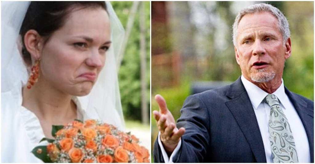Braut lud ihren biologischen Vater zur Hochzeit ein, dann